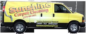 sunshine-carpet-cleaning-van